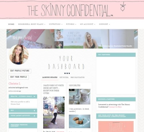 The Skinny Confidential talks blogger reviews.