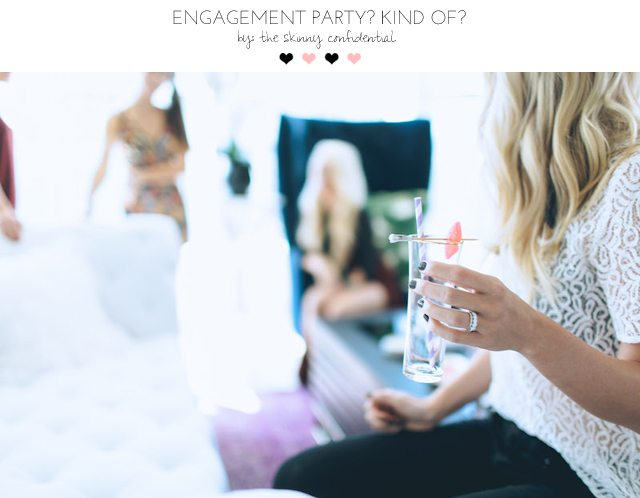 engagement party | by the skinny confidential