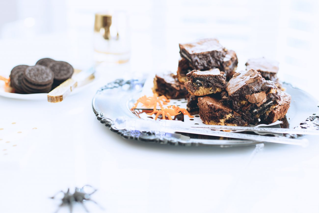 slutty brownies recipe | by the skinny confidential