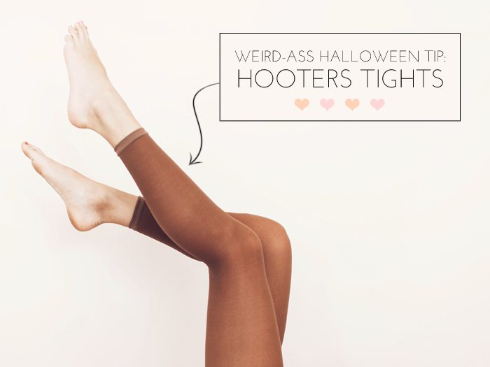 Hooters tights | by the skinny confidential