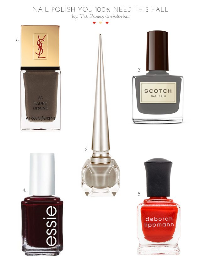 Nail Polish You 100% NEED This Fall by The Skinny Confidential