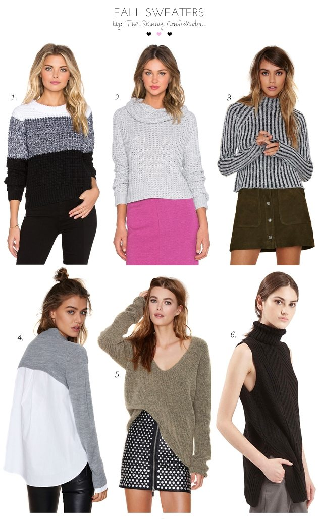 Cozy Fall Sweaters by The Skinny Confidential
