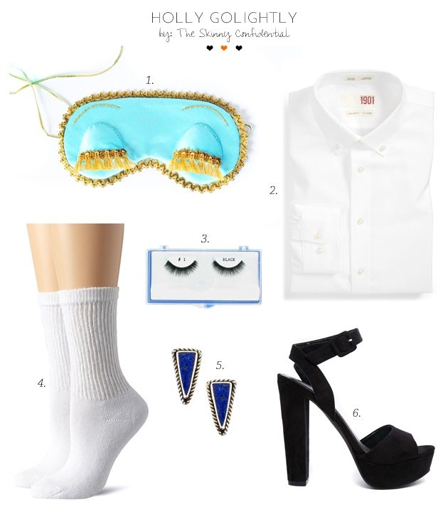 easy halloween costumes by The Skinny Confidential, Holly Golightly