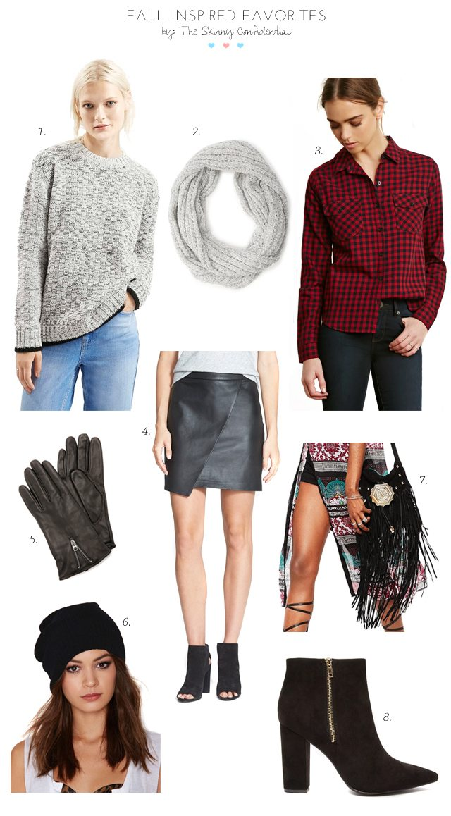 Favorite Fall Inspired Items