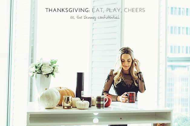 happy thanksgiving | by the skinny confidential