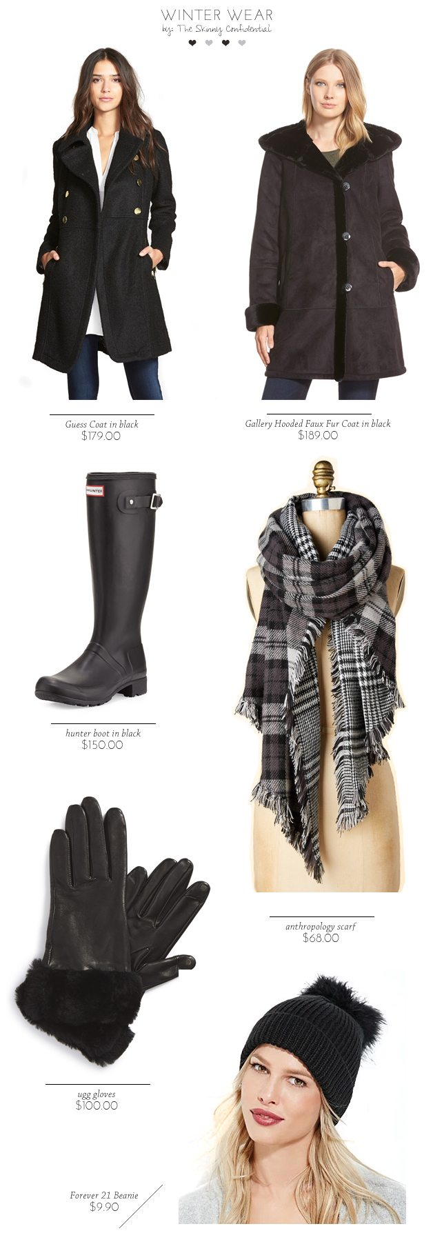 Winter clothing   by The Skinny Confidential