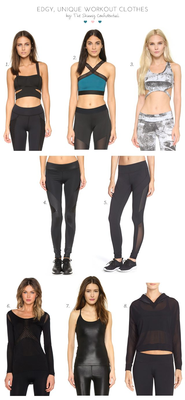 fashion new products outlet Edgy, Unique Workout Clothes