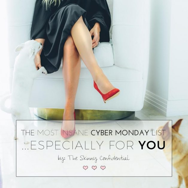 The Most INSANE Cyber Monday Sales List by The Skinny Confidential