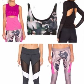 Edgy Workout Clothes