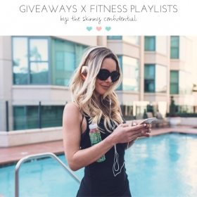 GIVEAWAY…& Let's Talk Fitness Playlists