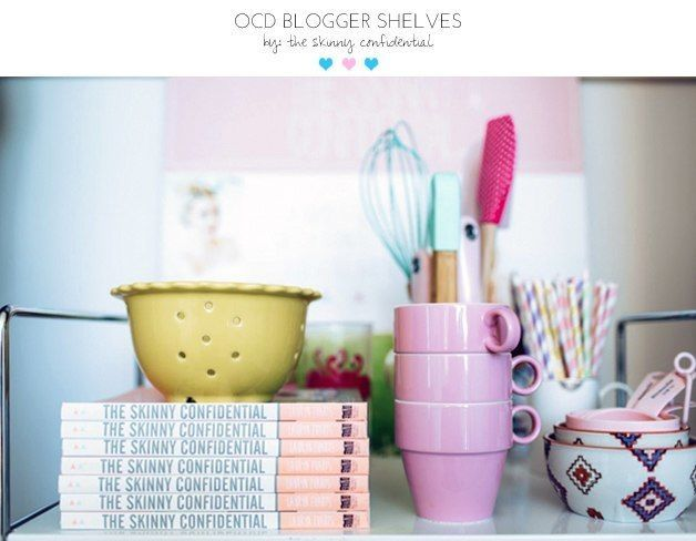 blogger shelves | by the skinny confidential