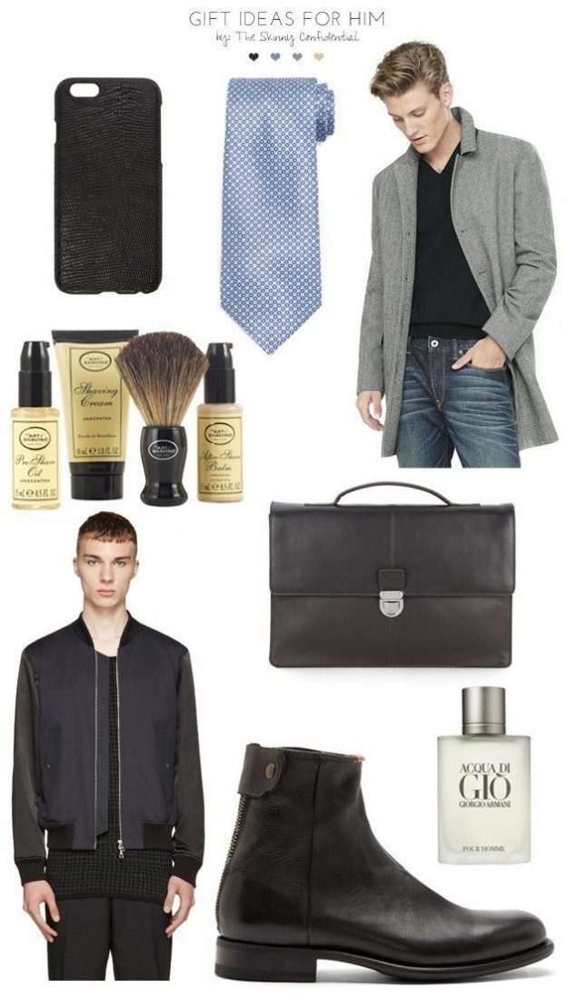 Gift Ideas For Him by The Skinny Confidential