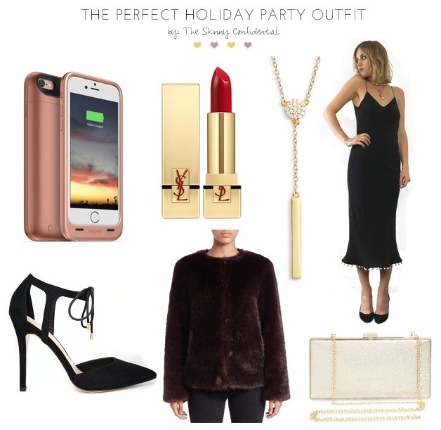 The Perfect holiday party outfit by the skinny confidential