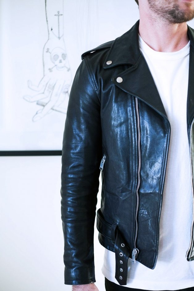 badass leather jackets by michael 3 | by the skinny confidential