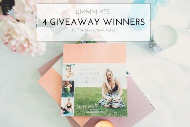 giveaway winners | by the skinny confidential
