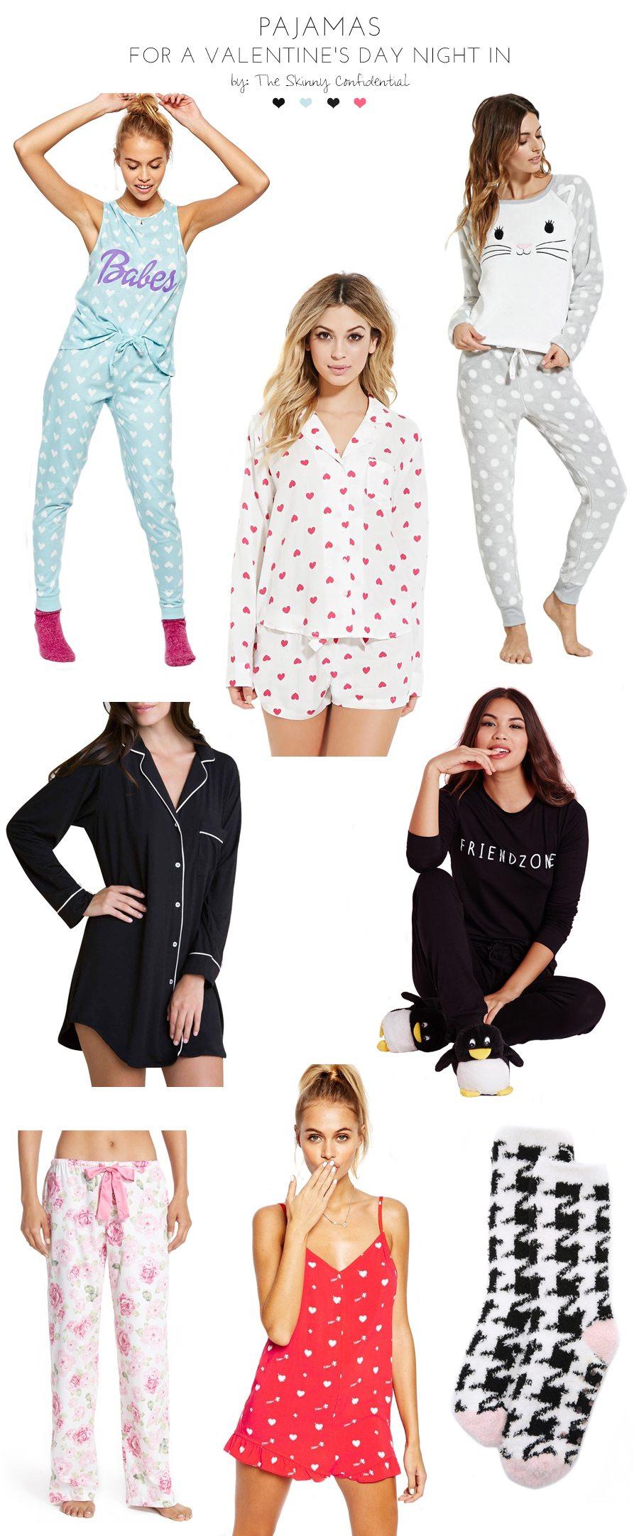 cutes pajamas by the skinny confidential - Valentines Day Pajamas