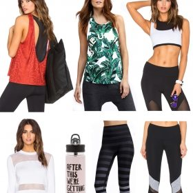 Just A Few Fitness Favorites… To Sweat Off Chips, Salsa, & Margaritas In.