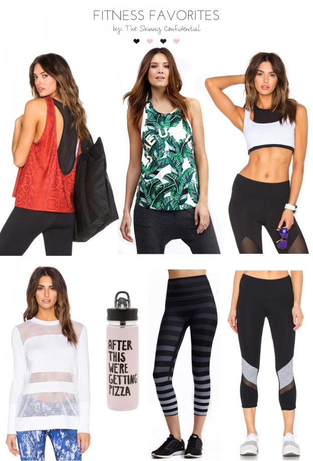 fitness favorites | by the skinny confidential