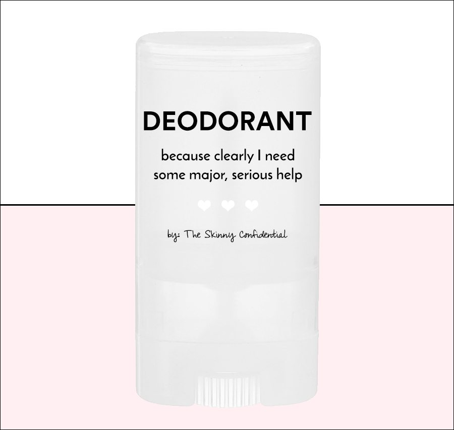 tsc ideal deodorant | by the skinny confidential