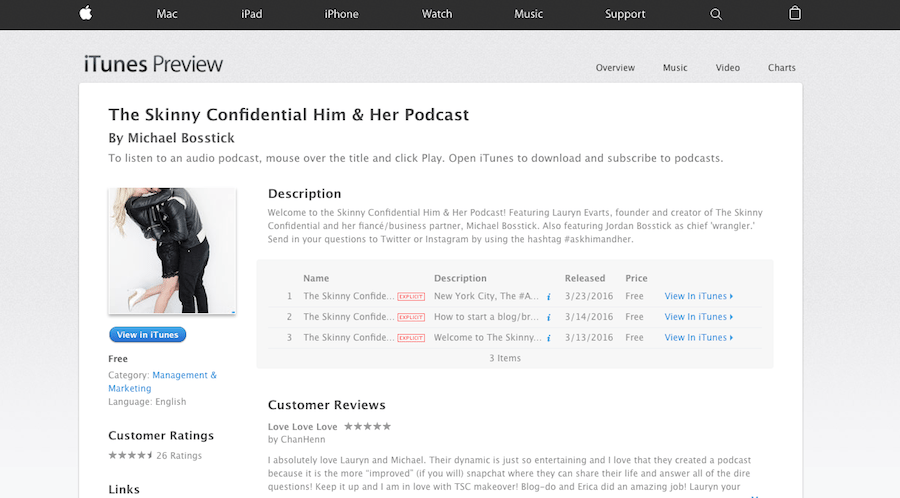The Skinny Confidential Him & Her Podcast 2 | by the skinny confidential