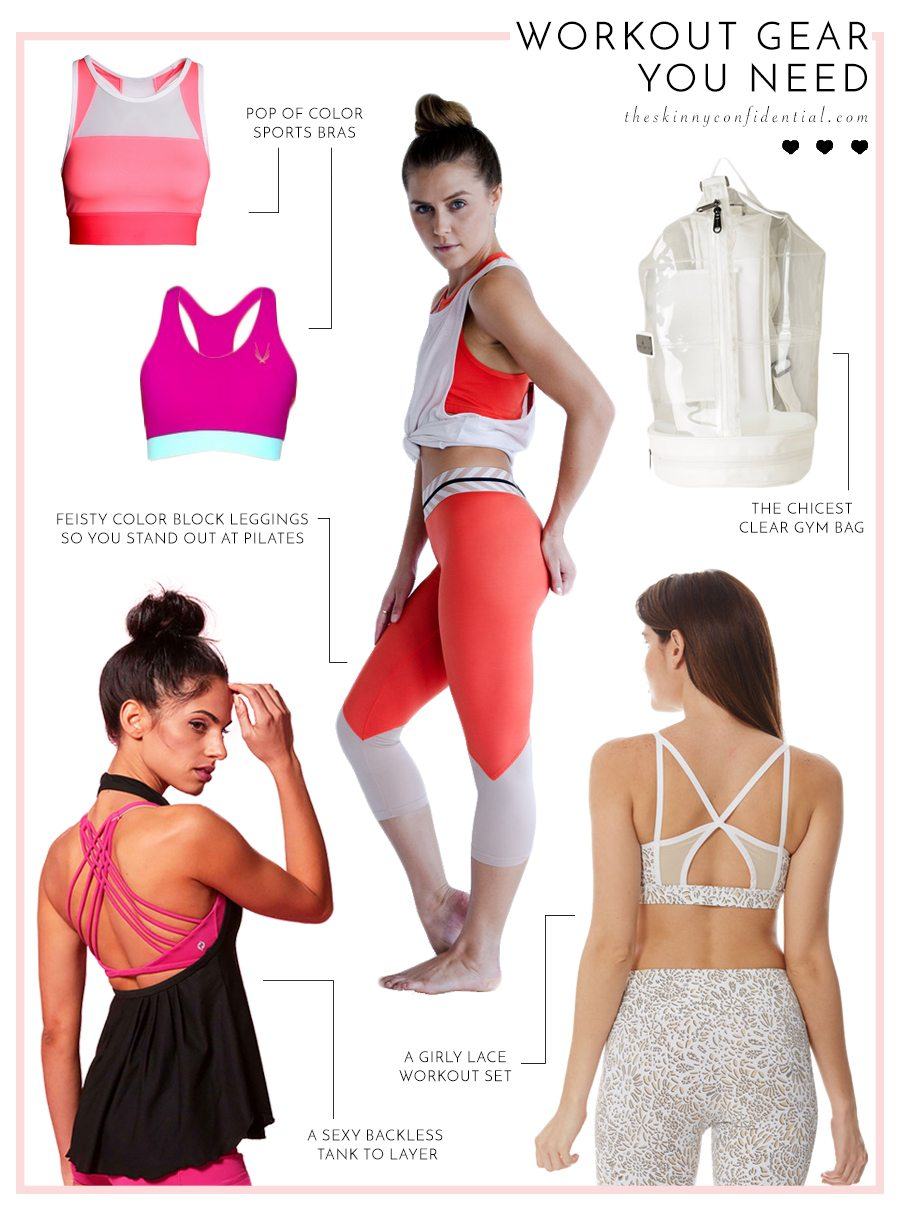 workout gear you need | by the skinny confidential
