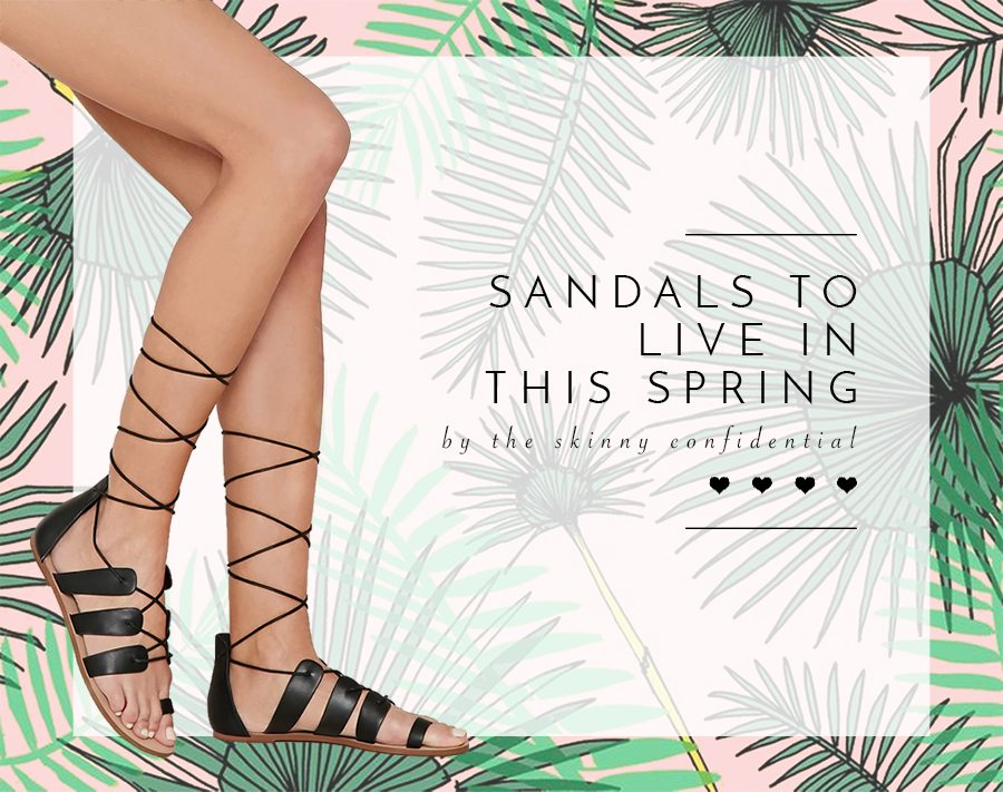 spring sandals | by the skinny confidential