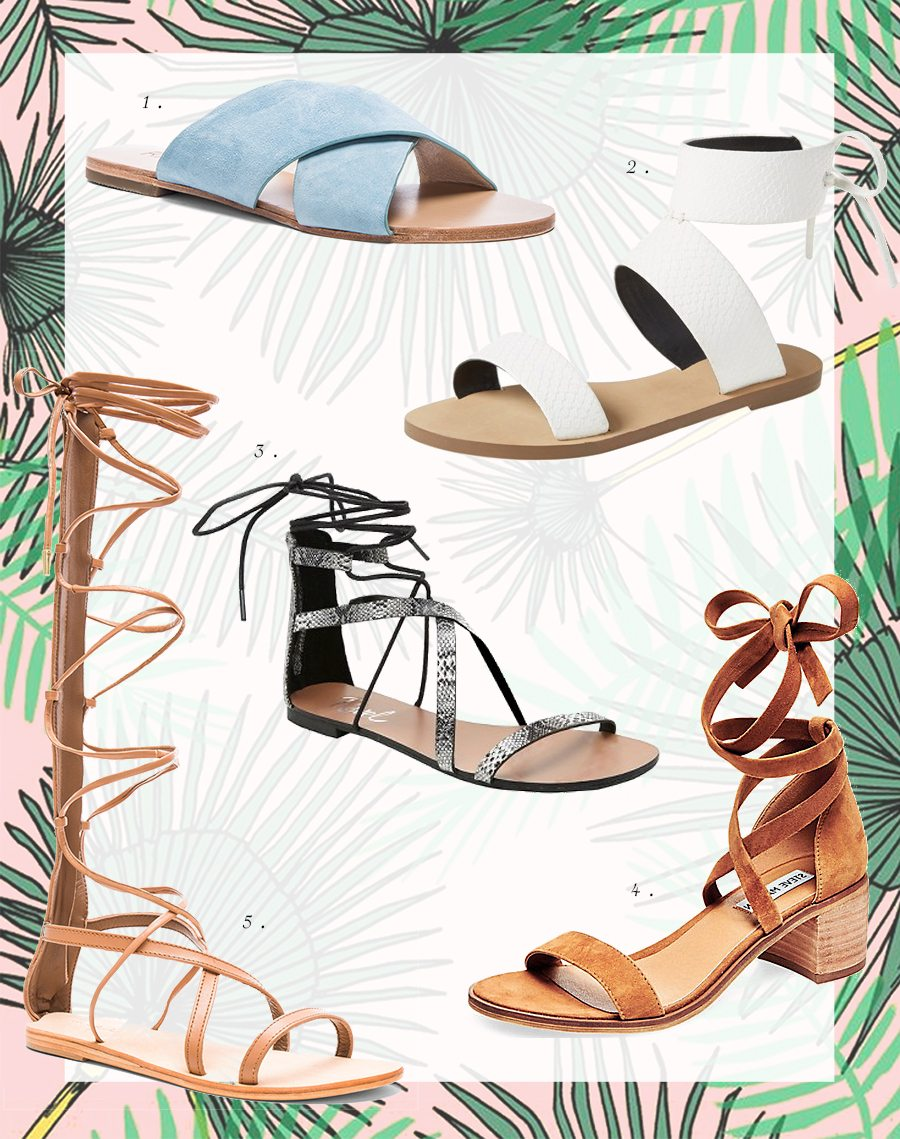 spring sandals 2 | by the skinny confidential