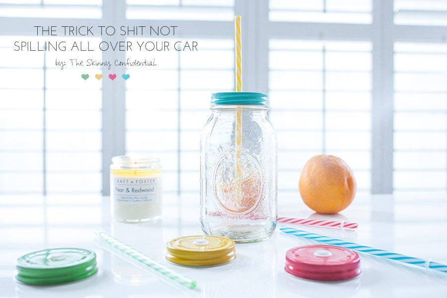 mason jars lids | by the skinny confidential