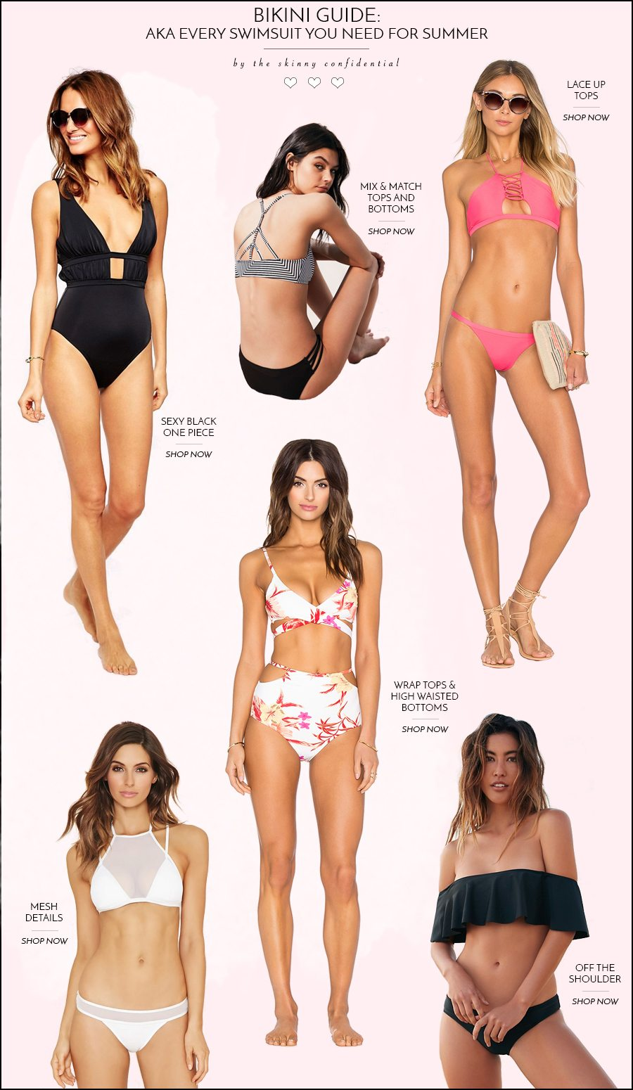 bikini guide | by the skinny confidential