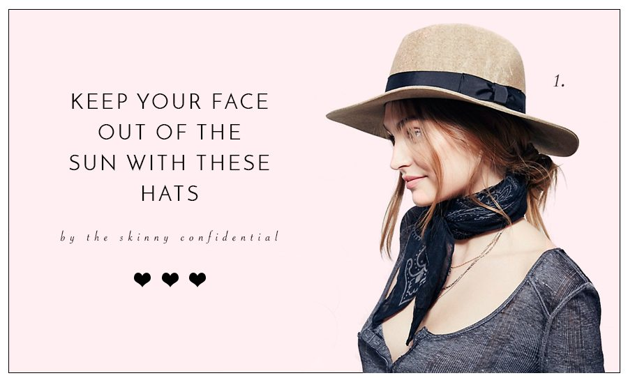 hats | by the skinny confidential