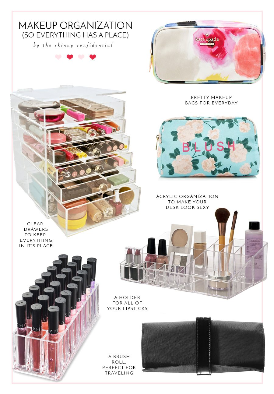 makeup organization | by the skinny confidential