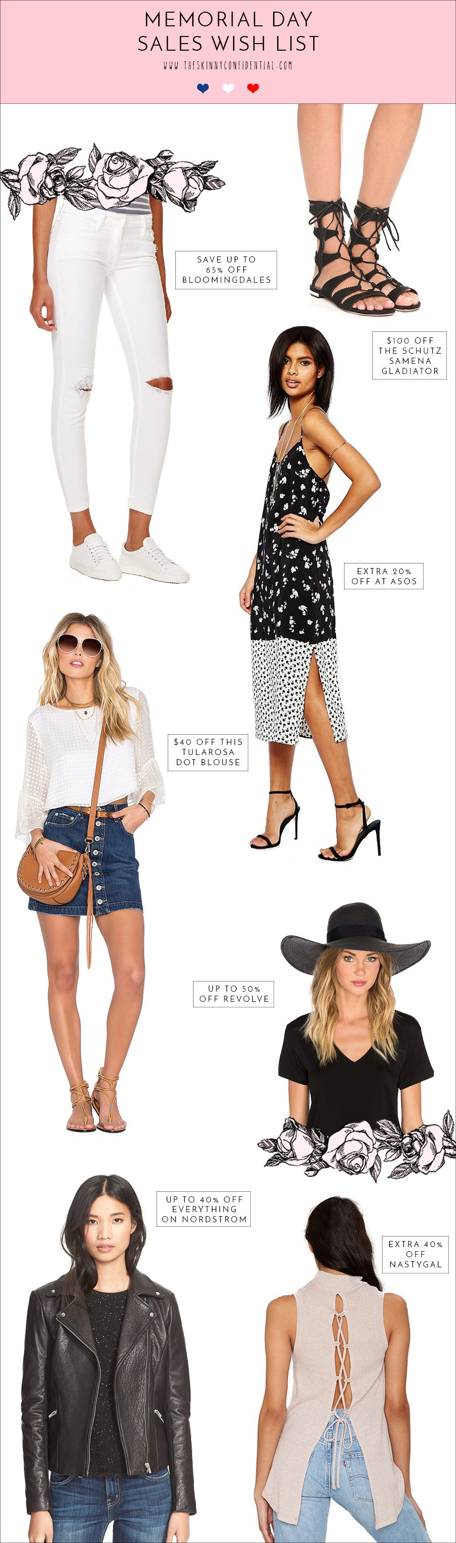 memorial day sale must haves | by the skinny confidential