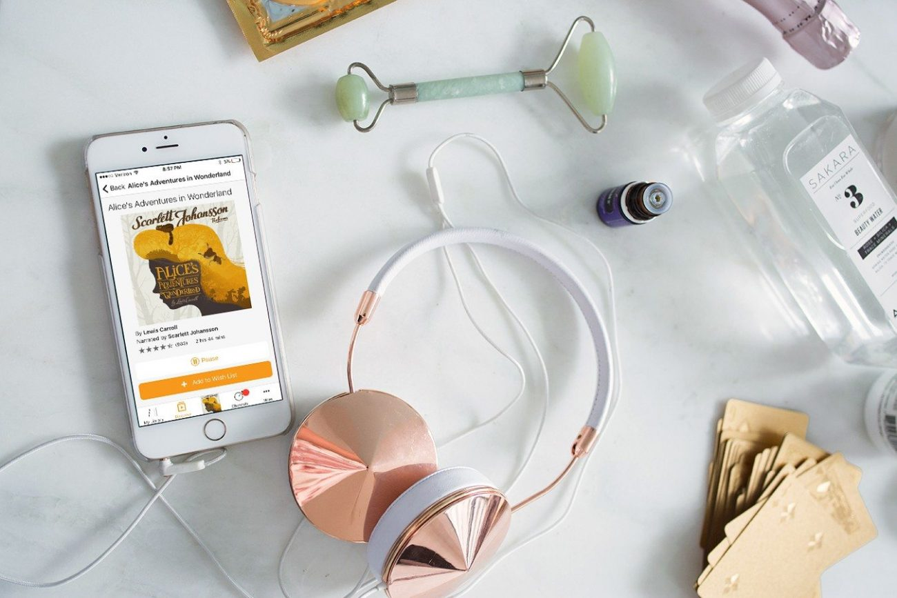 the perfect night in with audible | by the skinny confidential