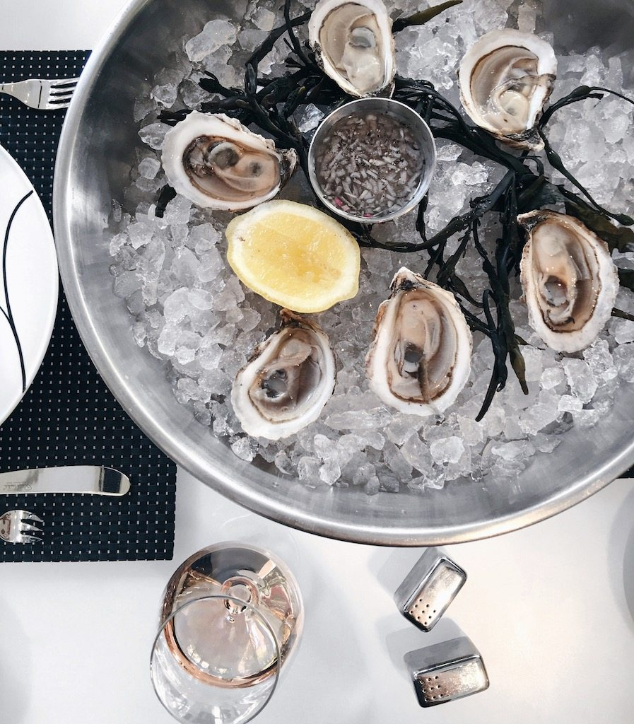 oysters and rose | by the skinny confidential