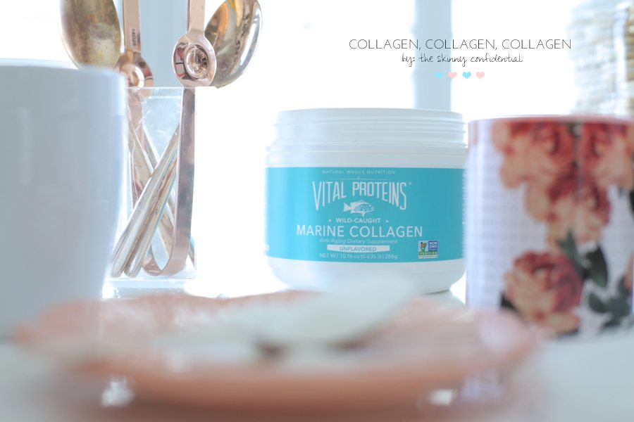 Vital Proteins Marine Collagen has so many benefits! Lauryn of The Skinny Confidential explains why she uses it daily for health, skin, beauty, and overall wellness.