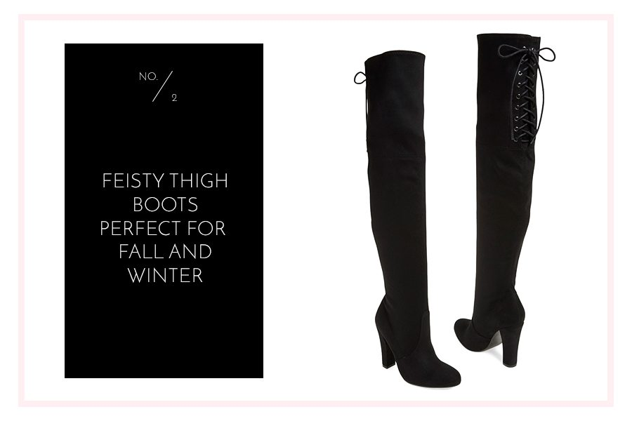 favorite item roundup from the Nordstrom Anniversary Sale - thigh boots | by the skinny confidential