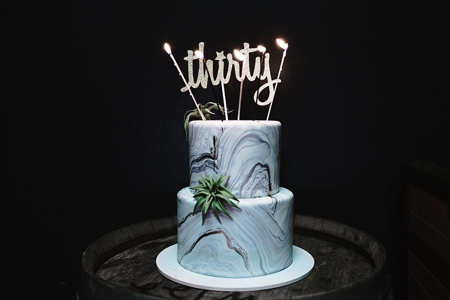 mini delites cake | by the skinny confidential