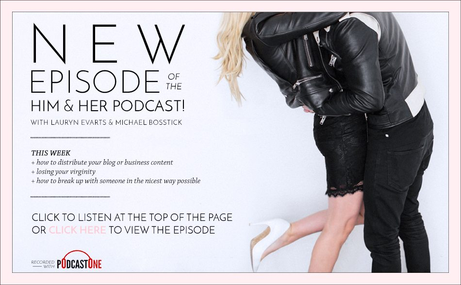 TSC Ask Him & Her Podcast Episode 25 The Sex Podcast | Featuring Lauryn Evarts & Michael Bosstick