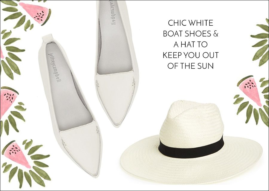 st tropez style - boat shoes & hat | by the skinny confidential