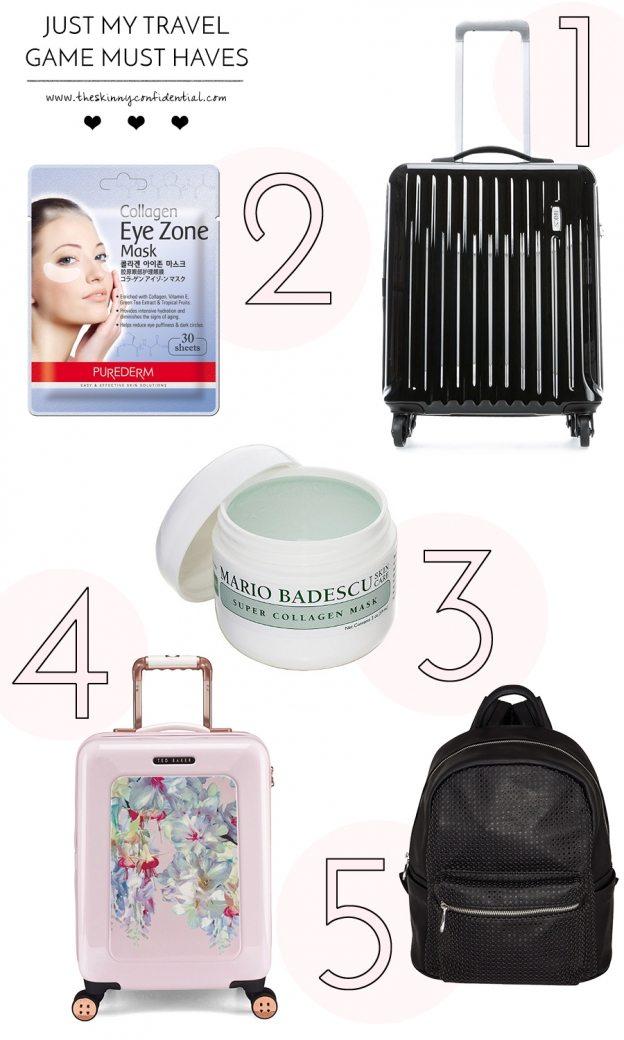 travel game must haves | by the skinny confidential