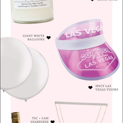 bachelorette party decor by the skinny confidential. a few essential items for any bachelorette party!