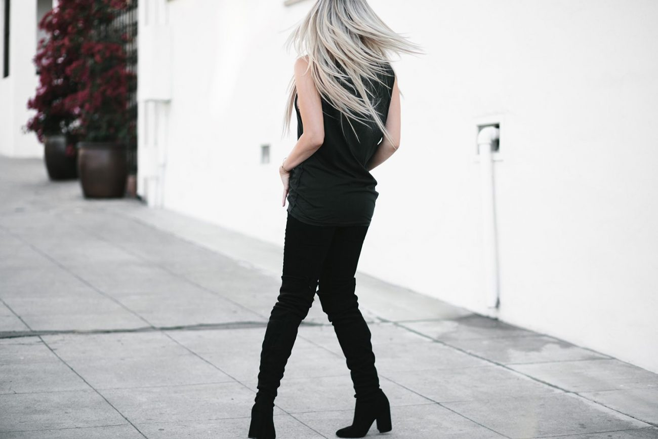 knee heel high boots 10 | by the skinny confidential
