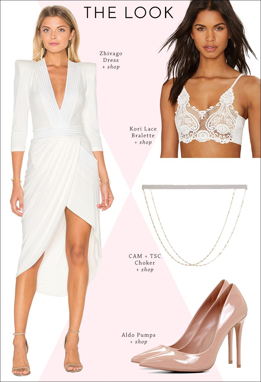 the perfect bridal shower outfit | by the skinny confidential