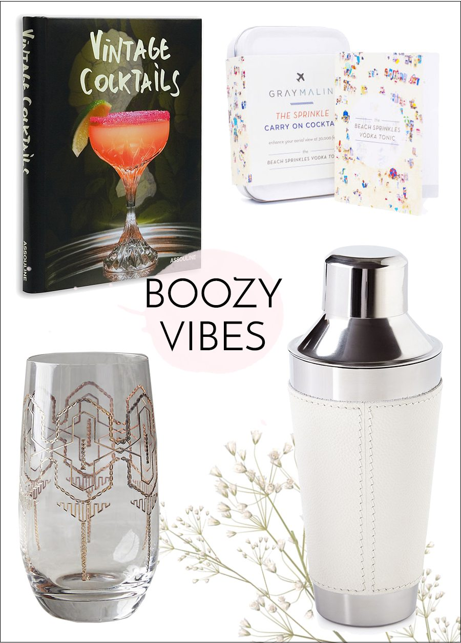 get buzzed in your pajamas gift guide | by the skinny confidential