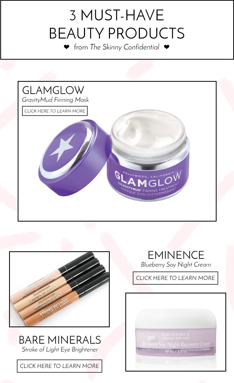 must have beauty products | by the skinny confidential