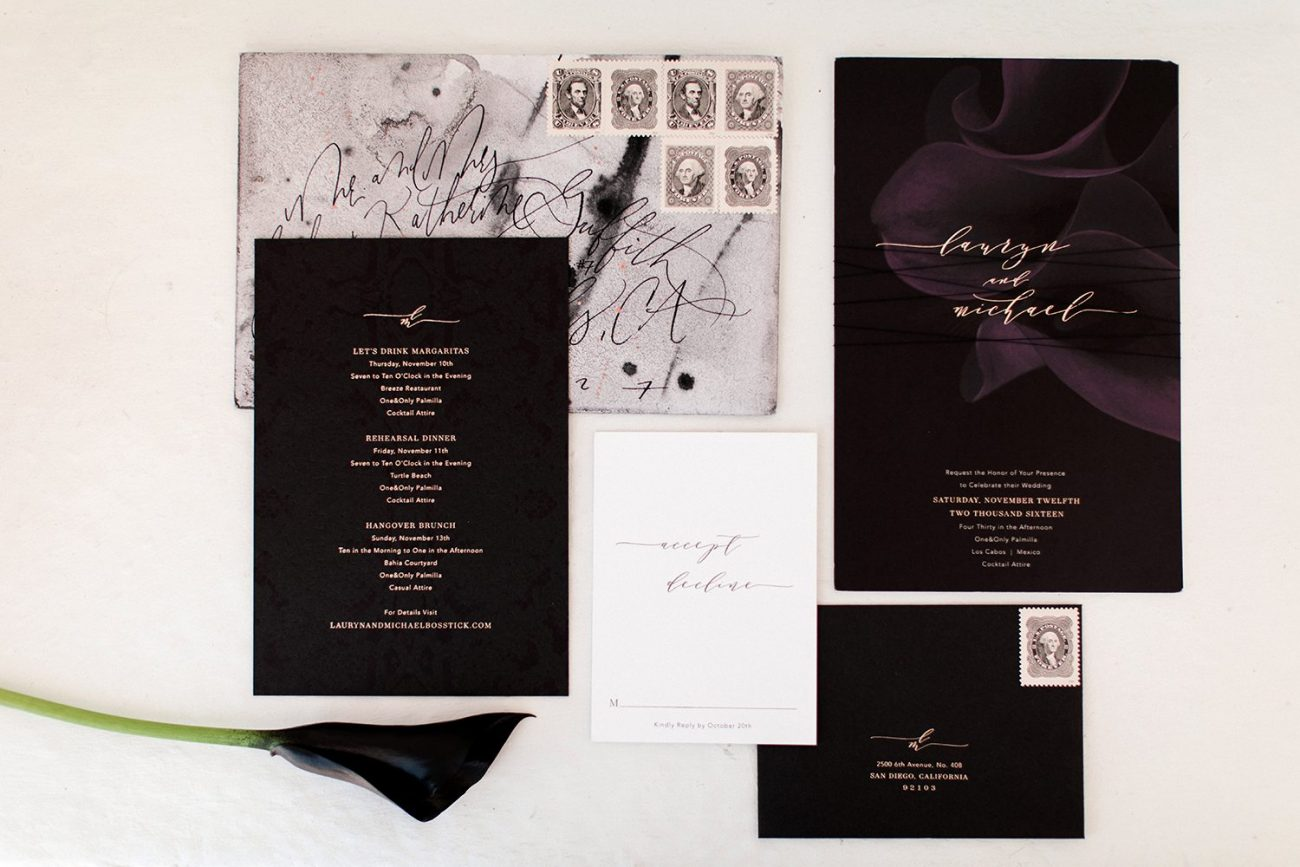 wedding invitations | by the skinny confidential