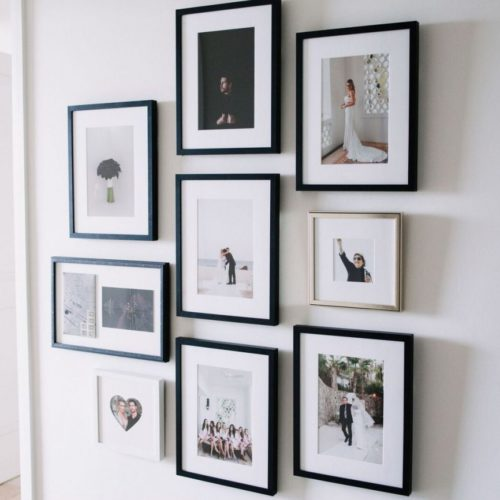 Styling A Chic Photo Wall