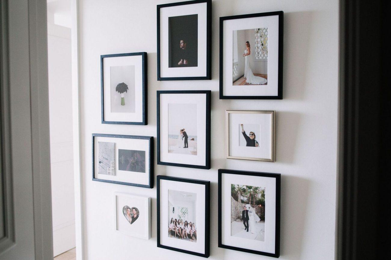 Styling A Chic Photo Wall