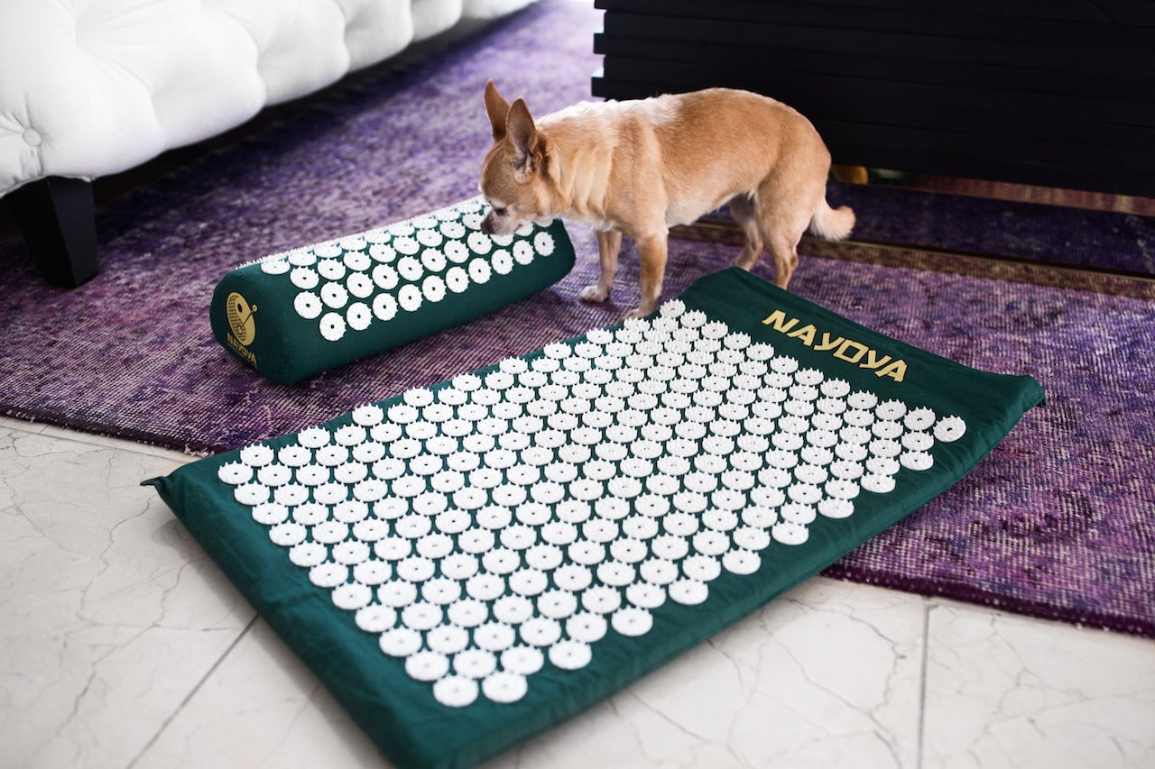 bed of nails acupressure mat | by the skinny confidential