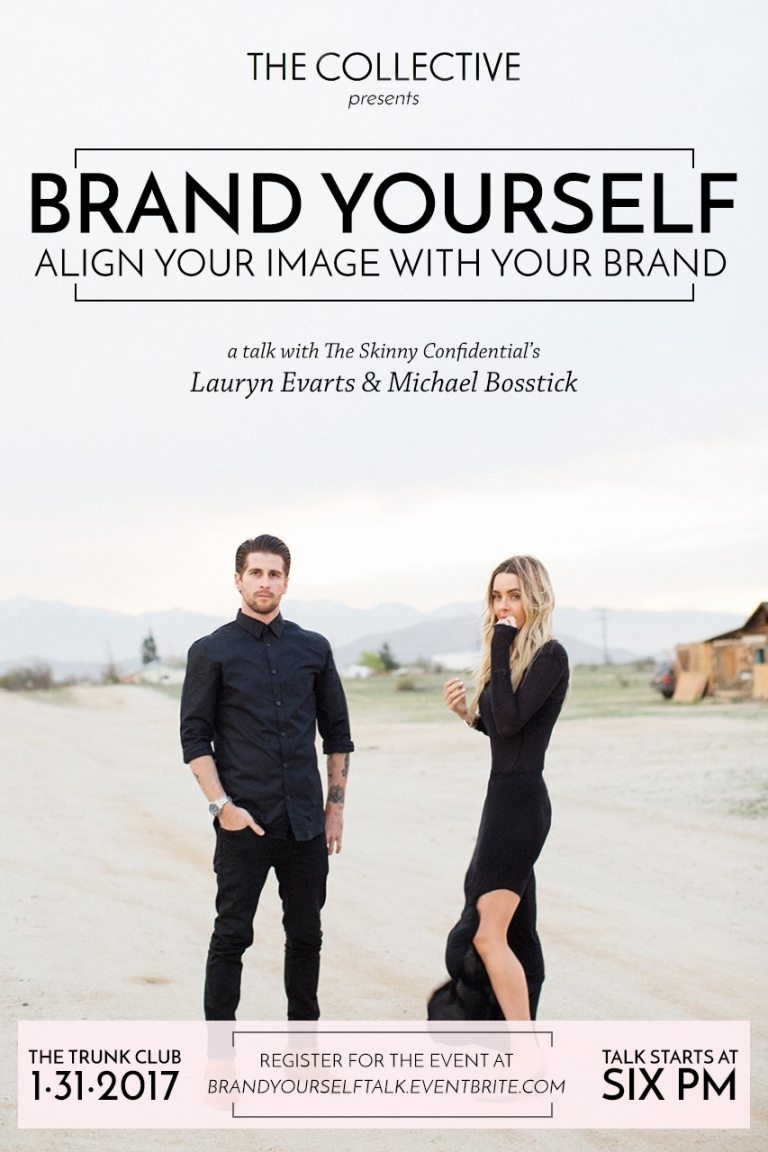 branding yourself talk the collective | by the skinny confidential